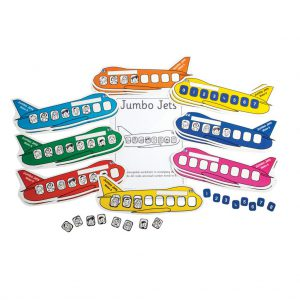 Jumbo Jets, pack of 5