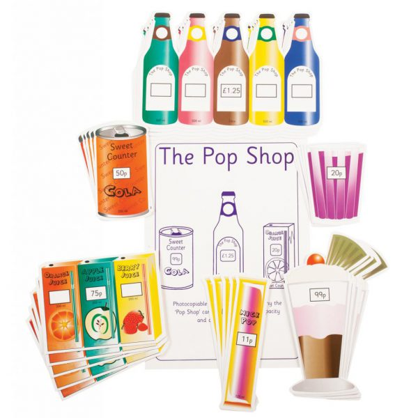 Pop Shop, pack of 5 sets