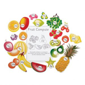 Fruit Compute, pack of 6 sheets