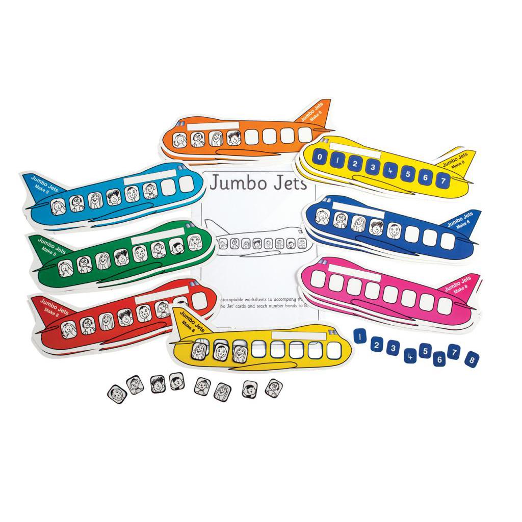 Jumbo Jets, pack of 5