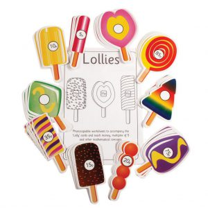 Lollies, pack of 5 sets