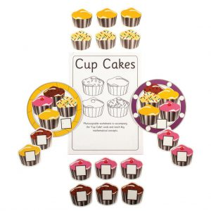 Cup Cakes, pack of 5 sets