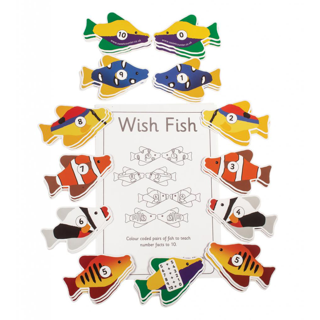 Wish Fish, pack of 13