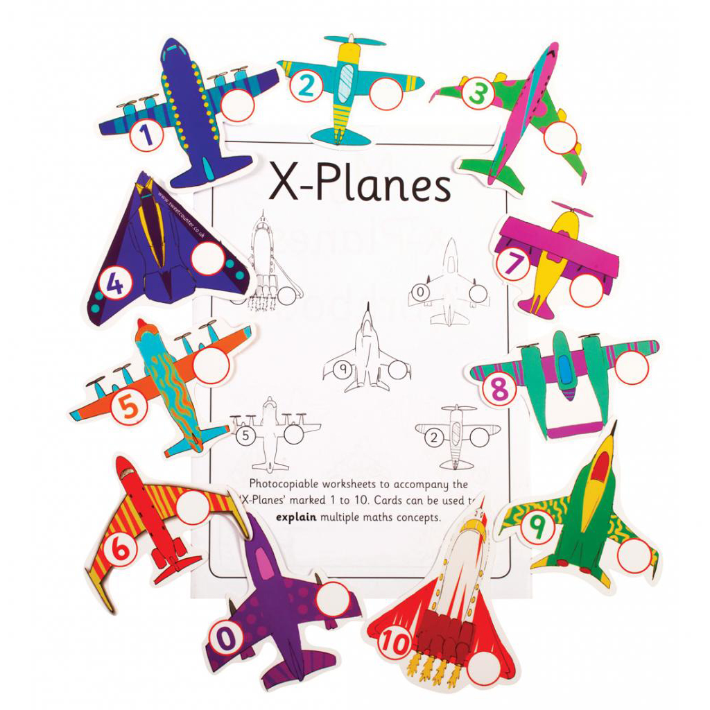 X-planes, pack of 5